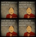 Typical Dad Dialogues